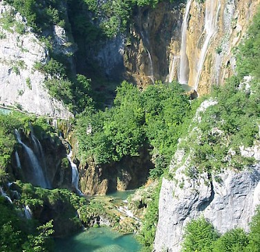 Plitvice Lakes National Park, Croatia. Photo via Wikimedia Commons