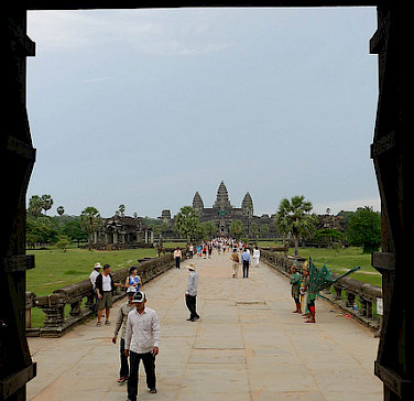 Angkor Wat, Siem Reap, Cambodia. Photo via Flickr:victoriapeckham