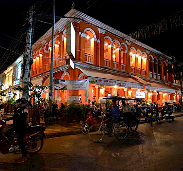 Nightlife in Siem Reap is great! Photo via Wikimedia Commons:antwerpenR