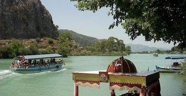 On the Dalyan Delta! Photo via Flickr:lepetitegrub