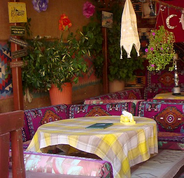 Restaurant in Dalyan, Turkey. Photo via Flickr:steve.wilde