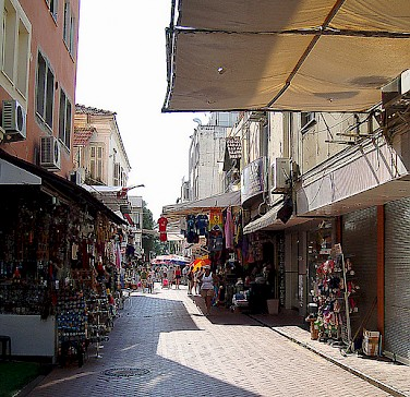 Shopping in Fethiye! Photo via Flickr:Astolath