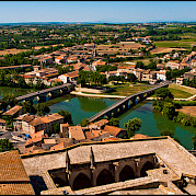 Southern France Canal du Midi bike tour Photo