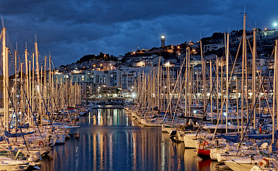 Harbor in Sète, France. Flickr:Christian Ferrer