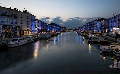 Canal in Sete, France. Flickr:Christian Ferrer