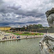 Gardens at Schonbrunn Palace in Vienna, Austria. Flickr:r chelseth