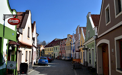 Jindrichuv Hradec, a Czech town within the South Bohemian Region. Flickr:Richard Mortel