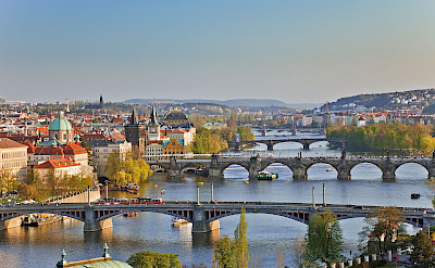 Bike tour through Prague, Czech Republic. Photo via TO