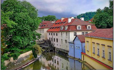 Biking through enchanting Prague, Czech Republic. Flickr:Moyan Brenn