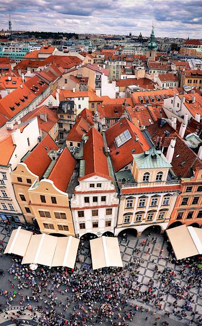 Overlooking Prague, Czech Republic. Flickr:Amirappel