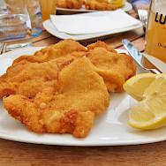 Austria's famous Schnitzel. Flickr:traveljunction