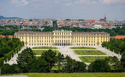 Schonbrunn Palace in Vienna, Austria. Flickr:Kurt Bauschardt