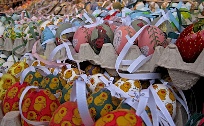Easter Market at Schonbrunn Palace in Vienna, Austria. Flickr:su-may
