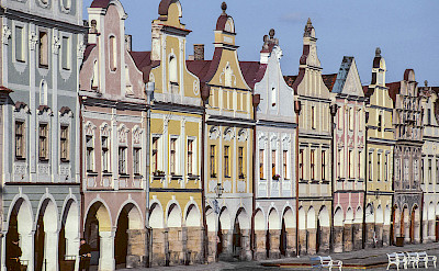 Telc is a UNESCO site in Moravia, Czech Republic. Creative Commons:Michal Lewi
