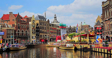 Amsterdam in North Holland, the Netherlands. Photo via Flickr:faungg's photos