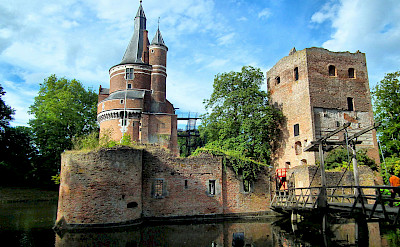 Castle Duurstede in Wijk bij Duurstede in Holland. CC:MicroToerisme