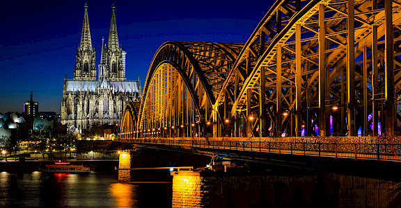 Cathedral in Cologne, Germany. Photo via Flickr:Daniel Knieper