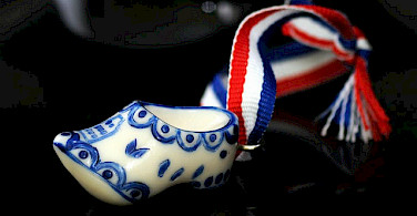 Miniature klompen in Holland make a great souvenir! Photo via Flickr:Cristina Pessini