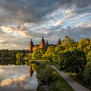 Schloss Johannisburg in Aschaffenburg, Germany. Flickr:Carsten Frenzl