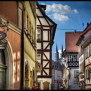 Bike rest in Bamberg, Upper Franconia, Germany. Flickr:magnetismus