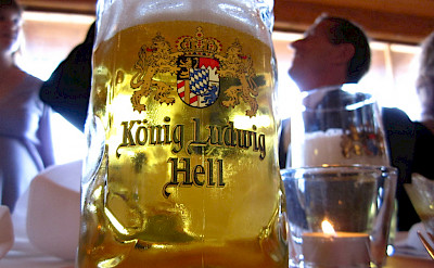 Beer is a must in Bavaria, Germany. Flickr:Leon Brocard
