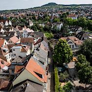 Overlooking Karlstadt in Bavaria, Germany. Flickr:Andrea Ullius