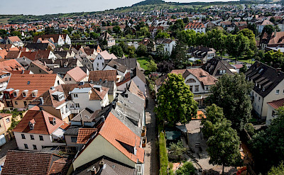 Overlooking Karlstadt in Bavaria, Germany. Flickr:Andrea Ullius