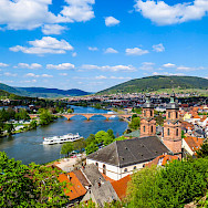Miltenberg on the Main River in Lower Franconia, Bavaria, Germany. Flickr:Kiefer