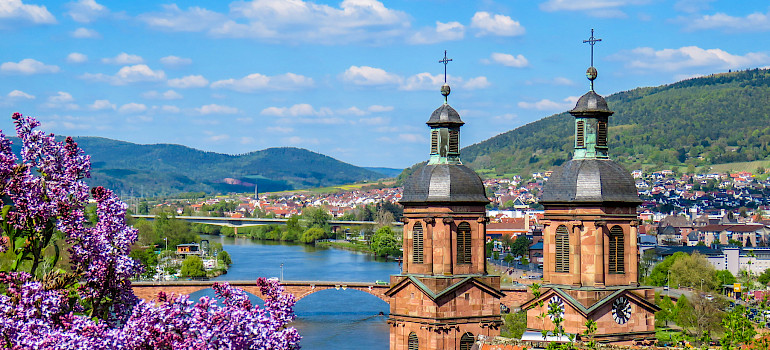 River Main in Miltenberg, Lower Franconia, Bavaria, Germany. Photo via Flickr:Kiefer