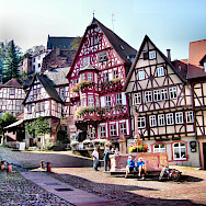 Historic Old Town of Miltenberg in Bavaria, Germany. Flickr:Yilmaz Oevuenc