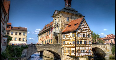 Altes Rathaus in Bamberg, Upper Franconia, Germany. Photo via Flickr:magnetismus