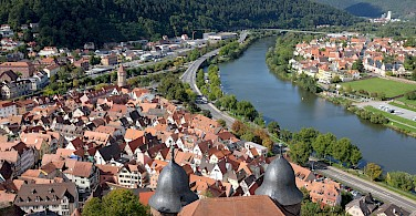Wertheim on River Rhine, Germany. Photo via Flickr:Christian Schmitt