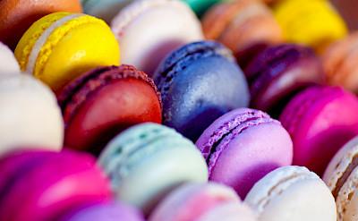 Macarons in the Patisserie in the Champagne region of France. Flickr:julien haler