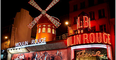 Moulin Rouge in Paris! Photo via Flickr:Moyan Brenn