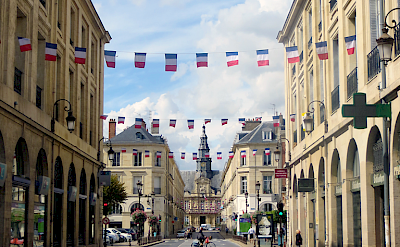 Biking through Reims, France. Flickr:Morgaine