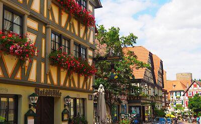 Kirchstrasse in Besigheim, Germany. Flickr:Edgar Ja