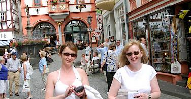 Shopping in Bernkastel Kues. Photo via Flickr:luxpim