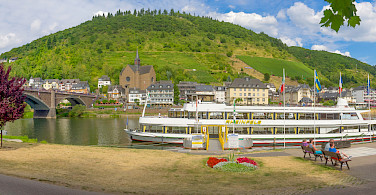 Panorama of Cochem, Germany. Photo via Flickr:Frans Berkelaar