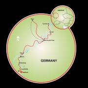Mosel & Saar Map