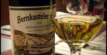The Mosel's famous Riesling Wine. Photo via Flickr:vidalia_11