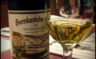 The Mosel's famous Riesling Wine. Flickr:vidalia_11