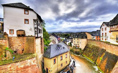 Saar River through Saarburg, Germany. Flickr:Wolfgang Staudt