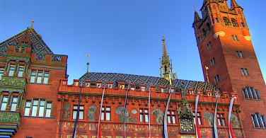 Rathaus in Basel, Switzerland. Photo via Flickr:Martin Abegglen