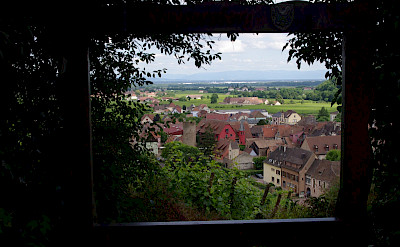Overlooking Kaysersberg in Alsace, France. Flickr:yannick ledein