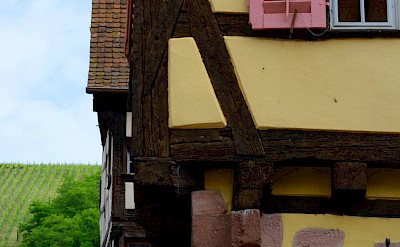 Beautiful architecture in Riquewihr, Alsace, France. Flickr:Pug Girl