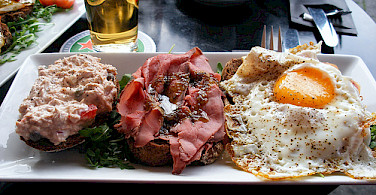 Typical Dutch lunch. Photo via Flickr:sallyb2