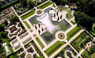 Gardens at Arcen, Limburg, the Netherlands. ©TO