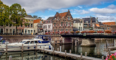 Gorinchem on the River Waal, the Netherlands. Photo via Flickr:Frans Berkelaar