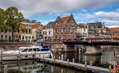 Gorinchem on the River Waal, the Netherlands. Flickr:Frans Berkelaar
