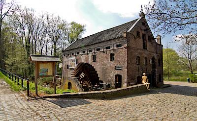 Graanbranderij in Arcen, Limburg, the Netherlands. ©TO